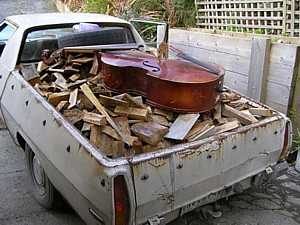 Removal insurance for musical instruments